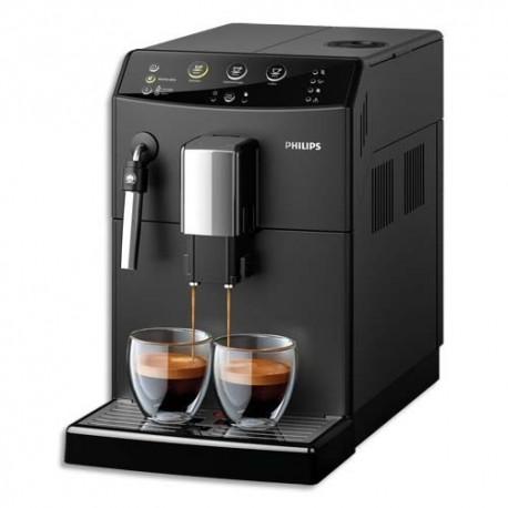 PHILIPS Broyeur à café Grains 3000 Noir, 1850W, réservoirs : 1,8L et grains 250g, L21,5 x H33 x P42,9 cm