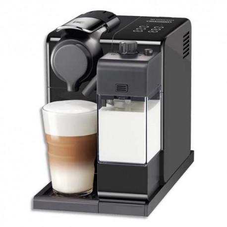 DELONGHI Machine à café Nespresso Latissima Touch Noire,1400W, réservoir eau 0,9L, L17,3 x H25,8 x P32 cm