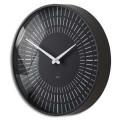 SIGEL Horloge murale Artetempus Lox à quartz radio pilotée en plastique ABS D36cm, profondeur 6 cm noir