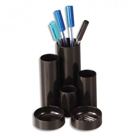 Pot à crayon Deflecto multifonctions noir