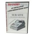 SHARP Kit installation (inclus mise en service sur site + aide) L76KITINSTAL