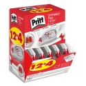PRITT Boîte ECOpack 12+4 Roller de correction PRITT Compact Flex 4,2 mm x 10m. Application latérale