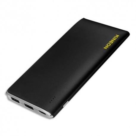 KINEON Powerbank 5000 mHa entrée micro USB sortie 2 USB noir D5 KN311513