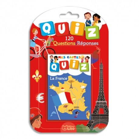 LITO DIFFUSION Jeu de cartes Quizz thème la France