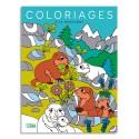 LITO DIFFUSION Livre de coloriage 64 pages 205x270, thème à la montagne