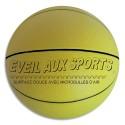 FIRST LOISIRS Ballon de basket mousse de PVC 17,8cm, 200g éveil au sport. Parfait pour apprendre
