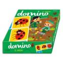 LITO DIFFUSION Jeu de dominos 36 pièces 130x130, thème le jardin