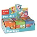 AGIPA Présentoir contenant 6 puzzles 24 pièces assortis