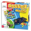 Jeu Speedy Match, pour 5 enfants et plus. Séquences couleurs à reproduire, 5 plaques et fiches idées