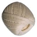 GRAINE CREATIVE Pelote de coton en bobine de 100g diamètre 1mm sur 65m environ