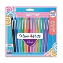 PAPERMATE Blister 12 Stylos feutre Flair Original. Assortis Candy Pop