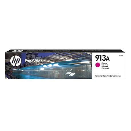 HP Cartouche Jet d'encre Magenta 913A F6T78AE