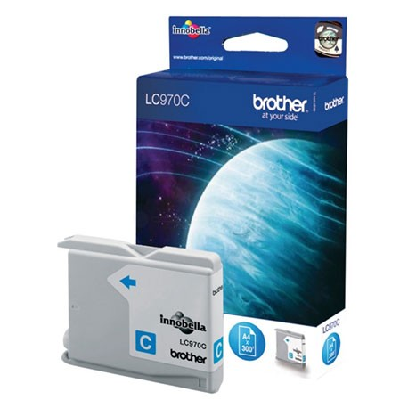 BROTHER LC-970C (LC970C) Cartouche jet d'encre cyan de marque brother LC970C (LC-970C)