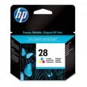 HP 28 (C8728A) - Cartouche jet d'encre 3 couleurs de marque HP N°28 / C8728AE
