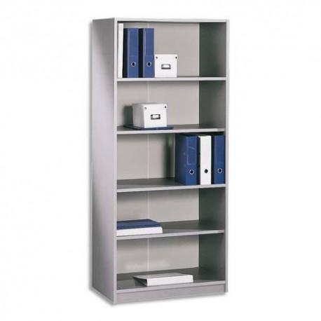 SIMMOB Bibliothèque haute H180 gamme ALU BUDGET
