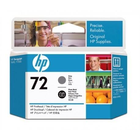 Tête d'impression HP N°72 C9380A Gris et noir photo
