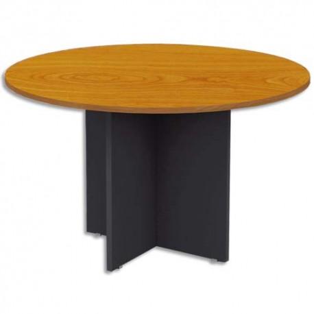 MT INTERNATIONAL Table ronde MT1 Confort merisier - Diamètre 120 x Hauteur 75 cm