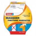 TESA Adhésif de masquage Finitions Parfaites 25m x 25mm en papier washi. Coloris Orange