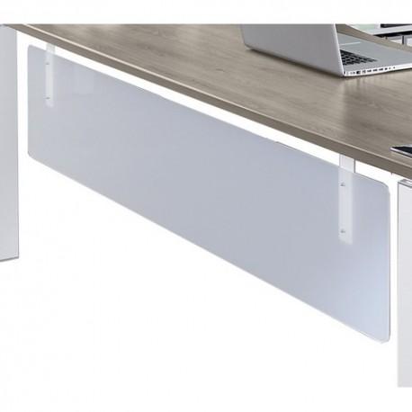 SIMMOB Option voile de fond Steely Translucide - Dimensions : L150 x H37 x P1,4 cm