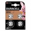 DURACELL Blister de 4 piles 2016 lithium pour appareils électroniques 5000394119314