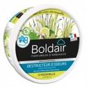 BOLDAIR Pot 300g Gel destructeur d'odeurs parfum Citronnelle Professional