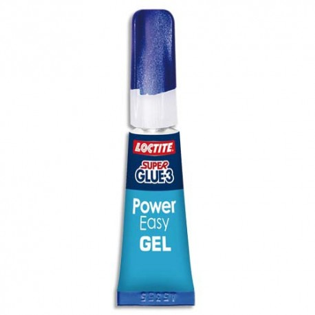 SUPER GLUE Tube de 2g Power Easy, ne colle pas au doigt