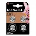 DURACELL Blister de 4 piles 2025 lithium pour appareils électroniques 5000394119345