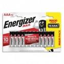 ENERGIZER Blister de 12 piles AAA LR03 max 7638900426526