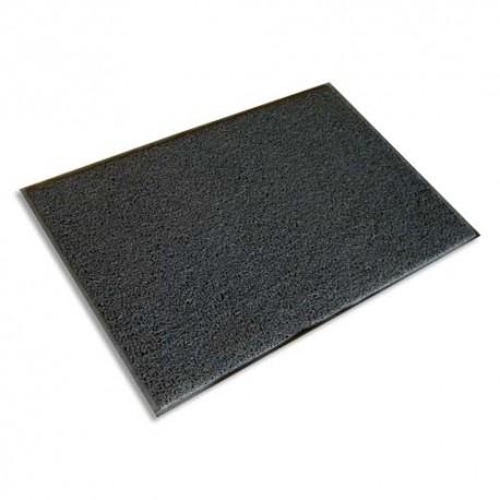 FLOORTEX Tapis d'accueil d'extérieur gris semelle en vinyle 90 x 60 cm épaisseur 8 mm