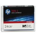 HP C5708A - Cartouche de données DDS-3 de 125m C5708A