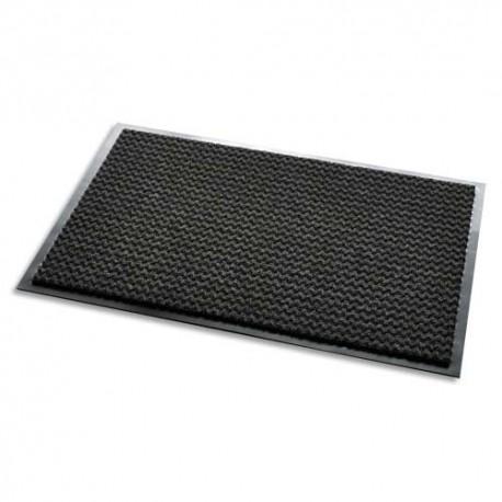 3M Tapis d'accueil Aqua Nomad 65 noir double-fibres 90 x 150 cm épaisseur 7,5 mm