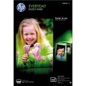 Papier photo HP - Pack de 100 feuilles Papier photo Everyday jet d'encre brillant 200g 10x15 CR757A