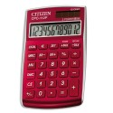 Calculatrice de poche Citizen CPC 112 Rouge