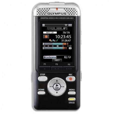 OLYMPUS Enregistreur numérique DM-901 4 Go. Ecran couleur. V407141BE000