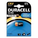 DURACELL Blister d'1 pile CR2 Utlra Lithium Duralock pour appareils photos
