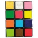 Boîte de 12 encreurs couleurs assorties