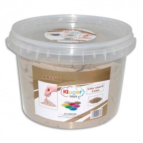 CULTURE CLUB Pot de 5 kg de sable magique kinétic aux couleurs naturelles