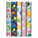 CLAIREFONTAINE Rouleau papier cadeau ALLIANCE 57g 2x0,70m. Motifs enfants assortis