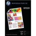 Papier photo HP - Pack de 150 feuilles Papier photo professionnel laser brillant 150g A4 CG965A