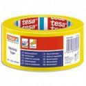 TESA Ruban adhesif PVC 150 jaune de marquage au sol, ruban d'avertissement, 33m x 50mm