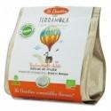 TERRAMOKA Paquet de 16 dosettes de Café bio Arabica du Brésil et du Mexique, compatibles Senseo