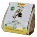 TERRAMOKA Paquet de 16 dosettes de Café bio Arabica d'Ethiopie, compatibles Senseo