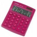 CITIZEN Calculatrice de bureau 12 chiffres SDC812NR Rose 7242526