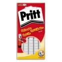Colle PRITT Pochette de 55 pastilles adhésives blanche Multifix 376631