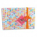 CLAIREFONTAINE Rouleau de papier cadeau ALLIANCE 60g. Spécial commerçant : 50x0,70m. Motifs Apache