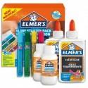 ELMERS Kit de fabrication de Slim : flacon de colle, stylos de colle à paillettes, bouteille de colle