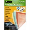 FELLOWES Boîte de 100 plats de couvertures PVC 200 microns A4 vert 5377301