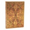 PAPERBLANKS Carnet BUKHARA Ambre Mini 9,5x14cm 176 pages lignées