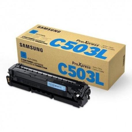 SAMSUNG Cartouche laser cyan CLT-C503L/SU014A