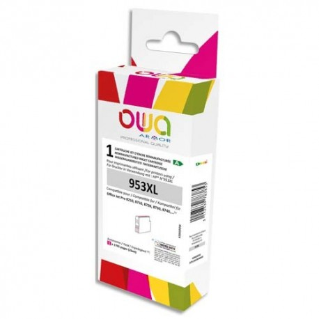 OWA Cartouche compatible Jet d'encre Magenta HP 953XL Magenta K20659OW
